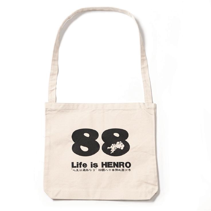 Life is HENRO ショルダーバック(白)