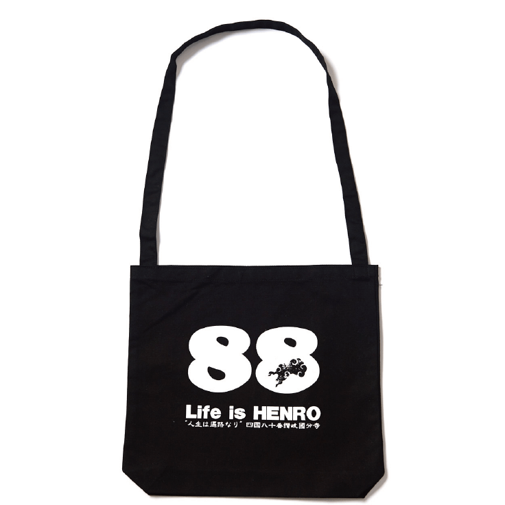 Life is HENRO ショルダーバック(黒)